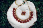 Exquisite Antique Rich Ruby Traditional Necklace-02