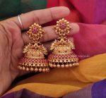 Flower Design Bridal Jhumka-01