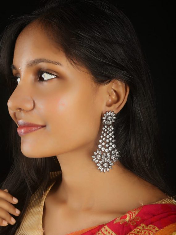 Gorgeous AD Stone Festive Earrings-01
