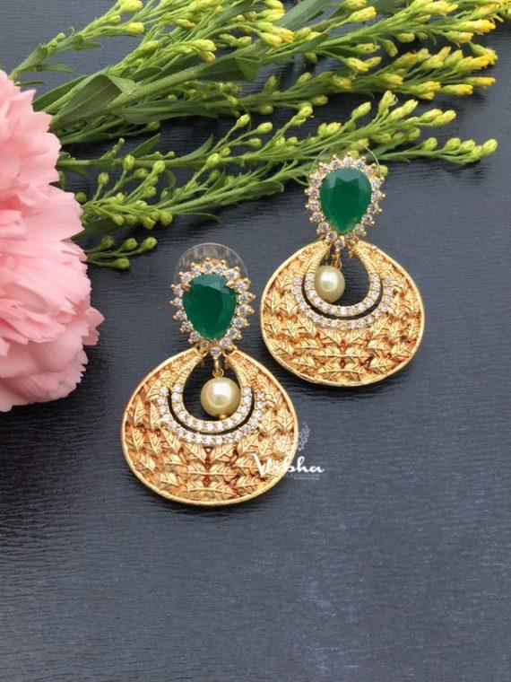 Gorgeous Designer Chandbali Earrings-01