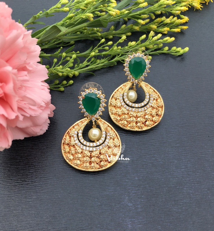 Gorgeous Designer Chandbali Earrings-01