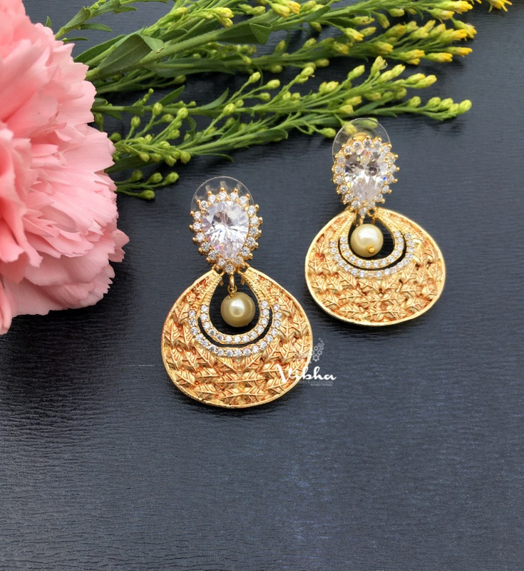Gorgeous Designer Chandbali Earrings-02