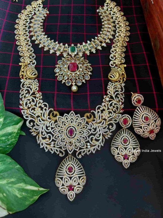 Imitation Heavy Designer Bridal Set-01