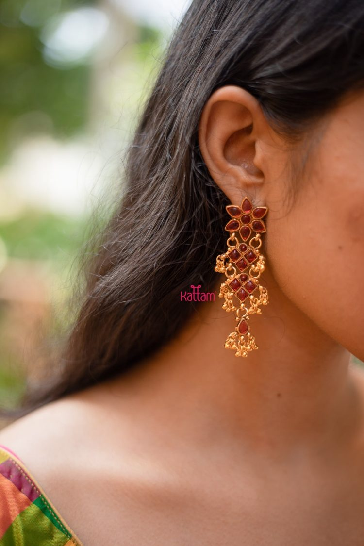 Kemp Floral Earrings-01