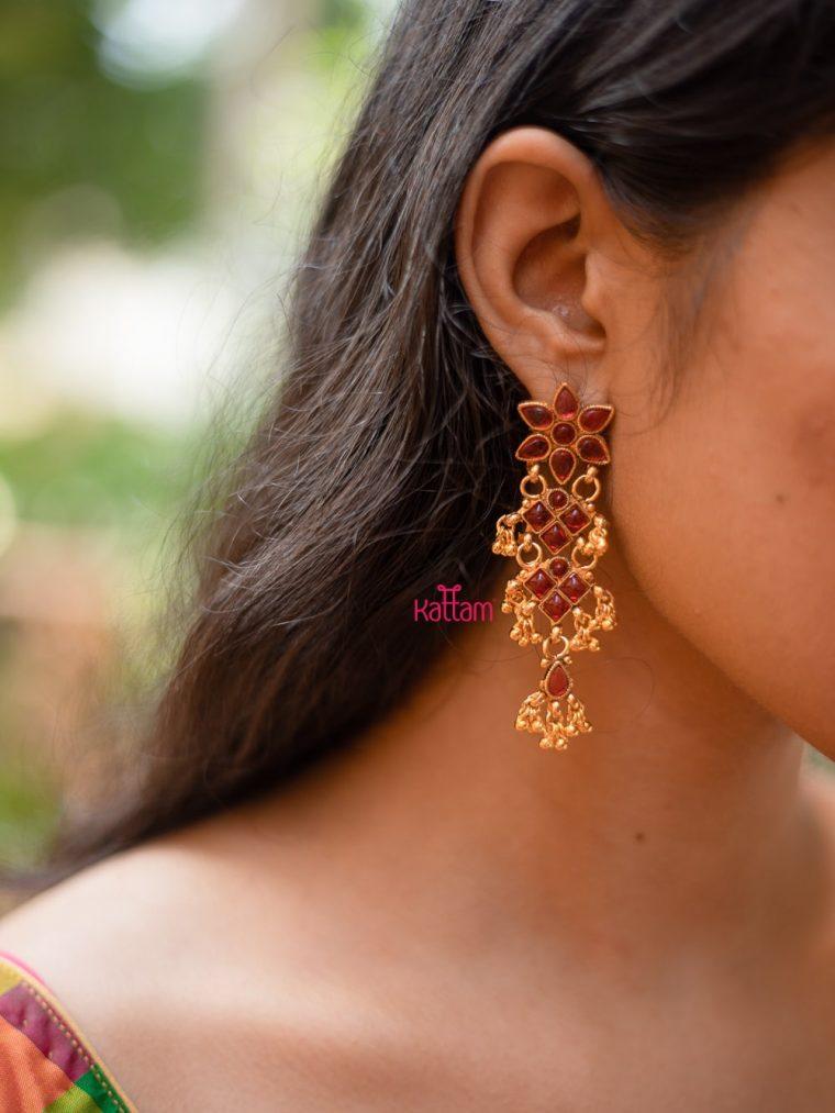 Kemp Floral Earrings-01