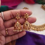 Kerala Style Antique Coin Necklace-02
