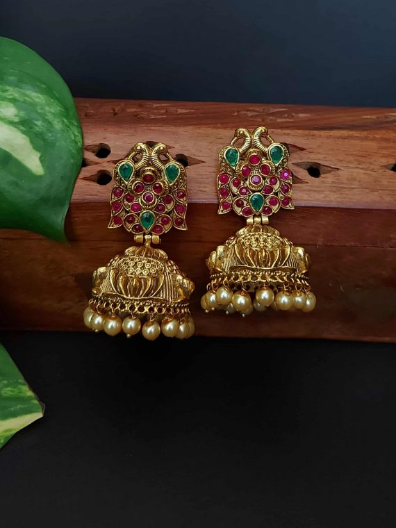 Premium Quality Antique Jhumka-01