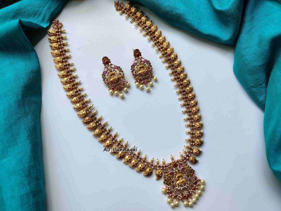 Premium Quality Mango Lakshmi Haram-01