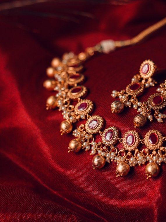 Premium Quality Ruby Designer Necklace-02