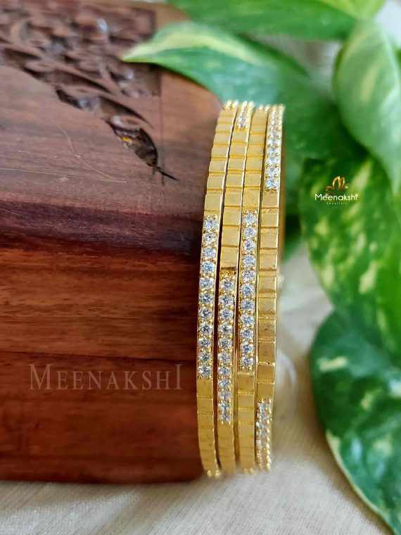 Beautiful Stone Designer Bangles
