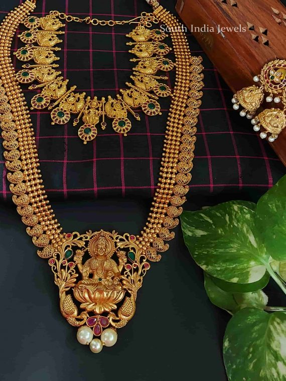 Elegant Lakshmi Matte Finish Bridal Set