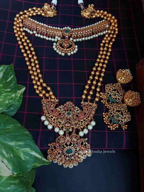 Latest Antique Bridal Jewellery Set