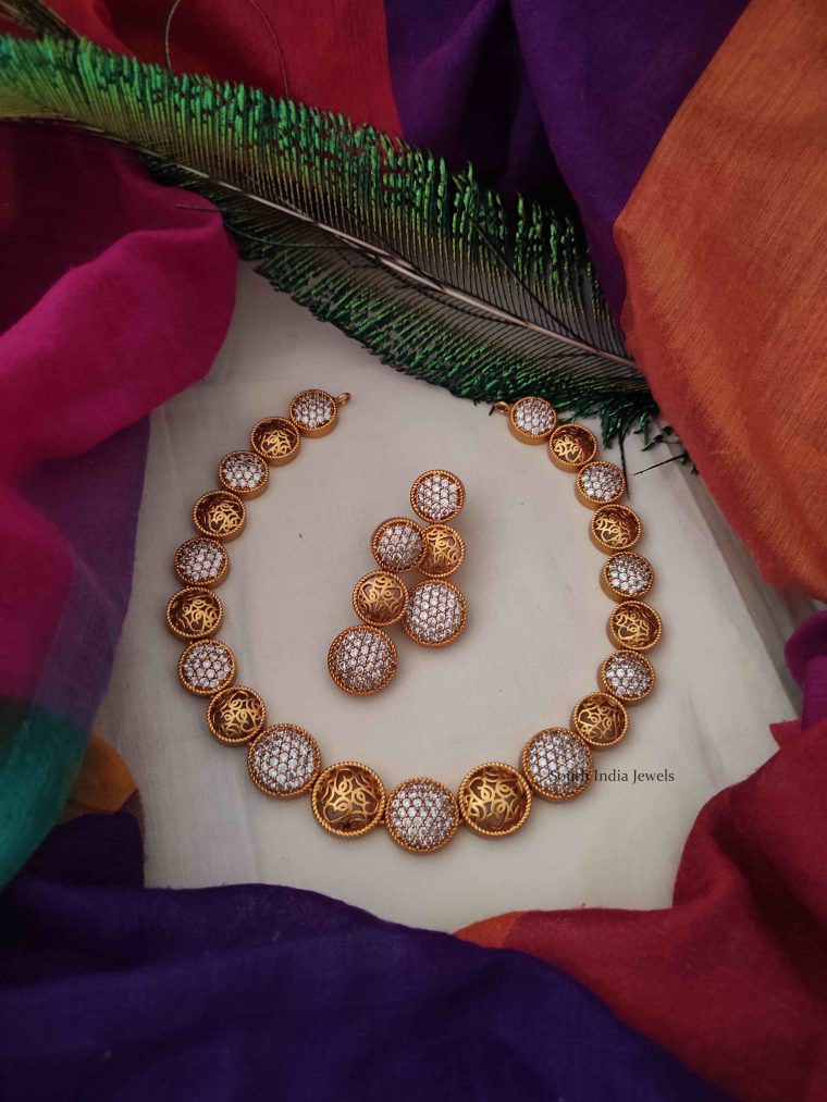 Trendy Latest Design Necklace-01