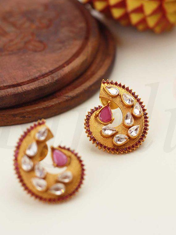 Simple Mango Design Earrings-01