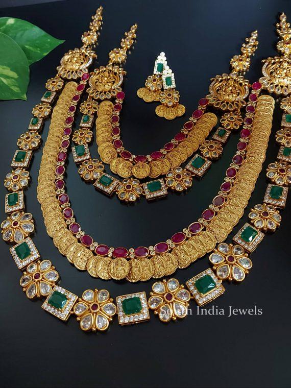 Antique Grand Lakshmi Bridal Combo-01