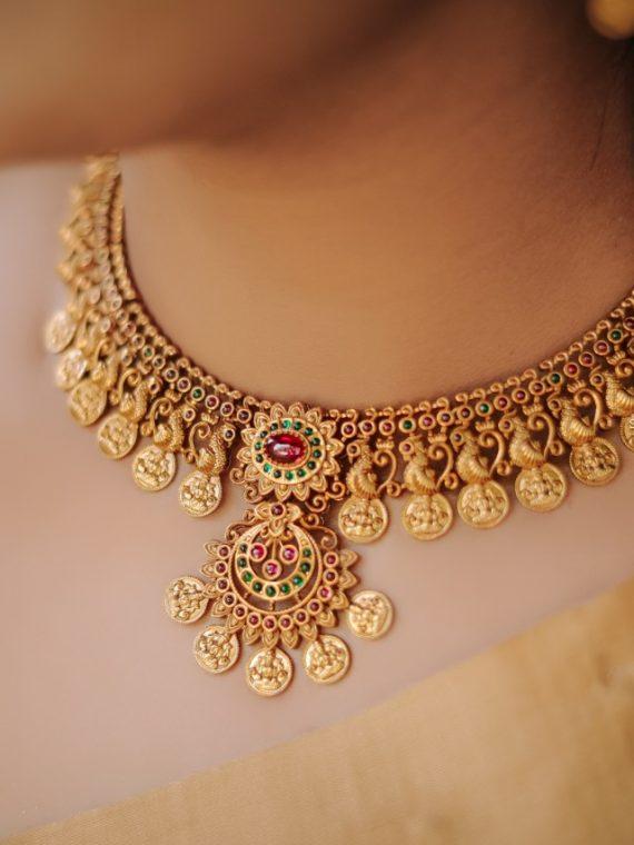 Antique Kasumala Naga Design Necklace-01