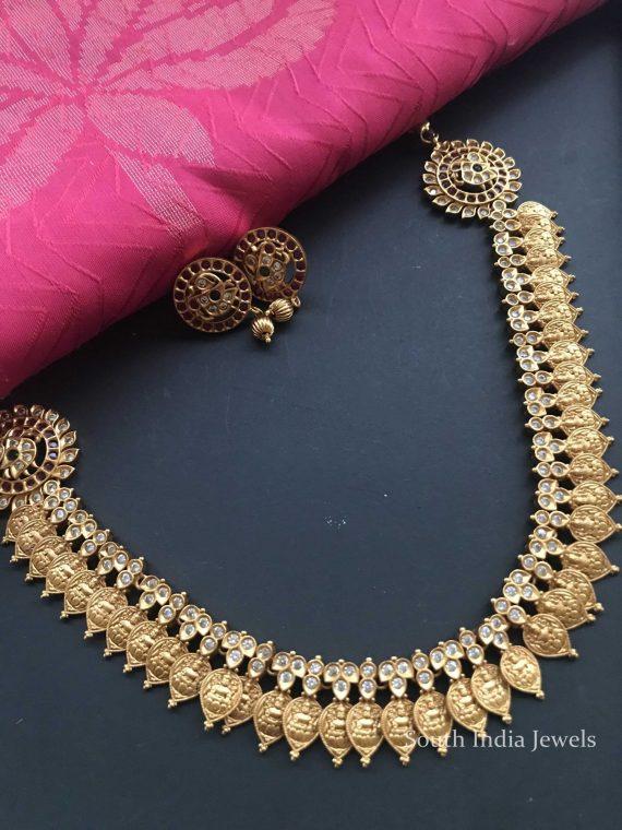 Antique Side Locket Necklace Set-02
