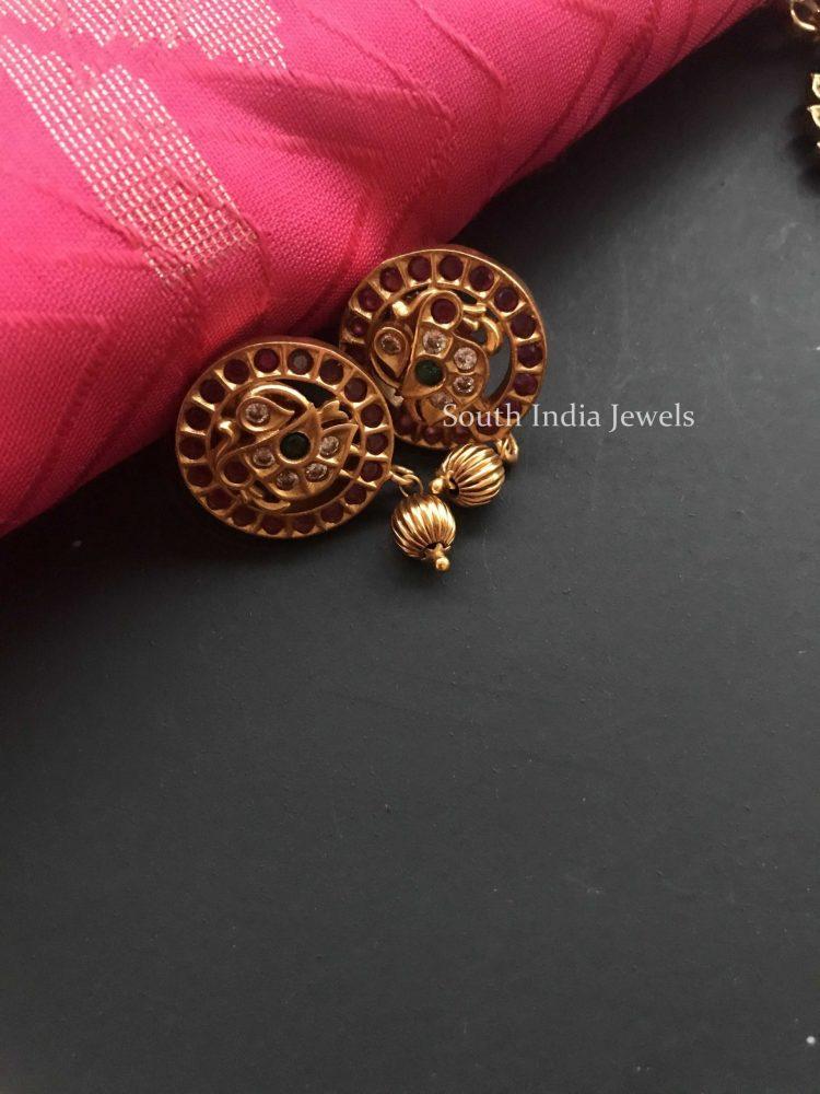 Antique Side Locket Necklace Set-03