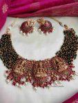 Beads & Kemp Three Pendant Lakshmi Necklace