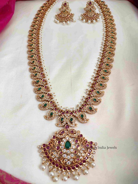 Beautiful Bridal Wear Long Haram