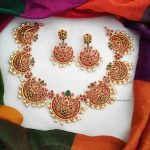 Beautiful Chandbali Design Necklace
