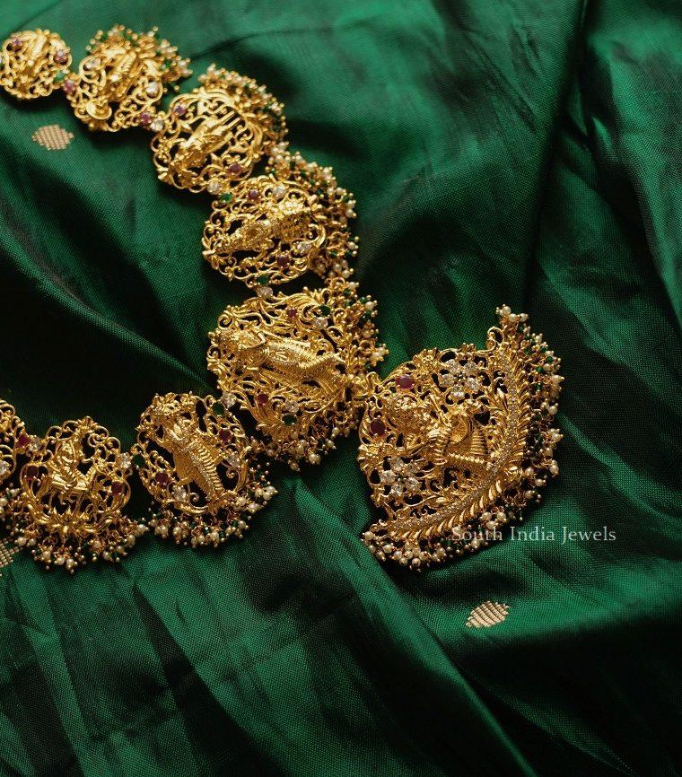 Beautiful Dasavatharam Necklace Set