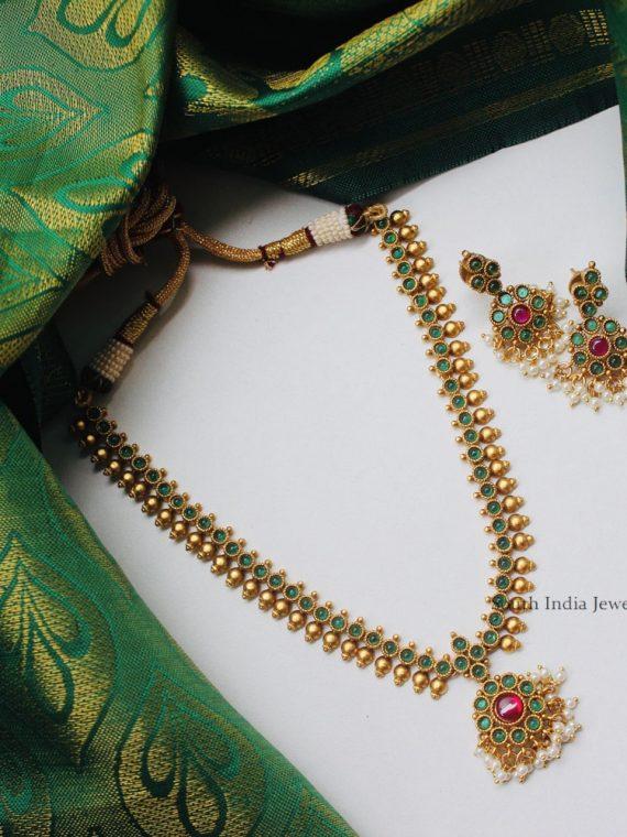 Beautiful Kemp Stone Necklace-01