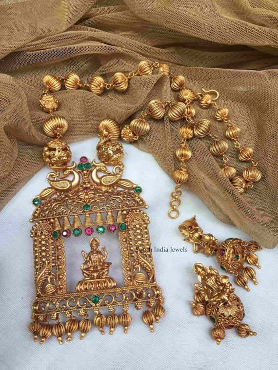 Beautiful Lakshmi Pendant Haram