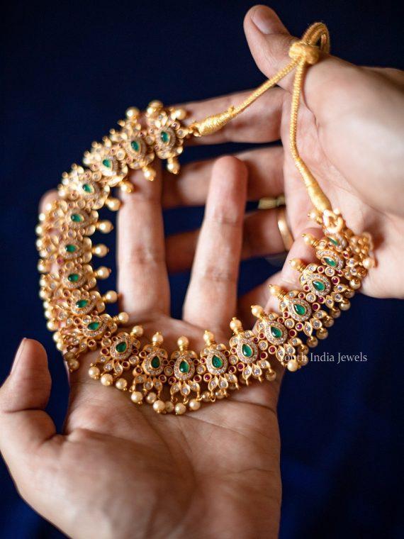 Beautiful Tear Drop Guttapusalu Necklace