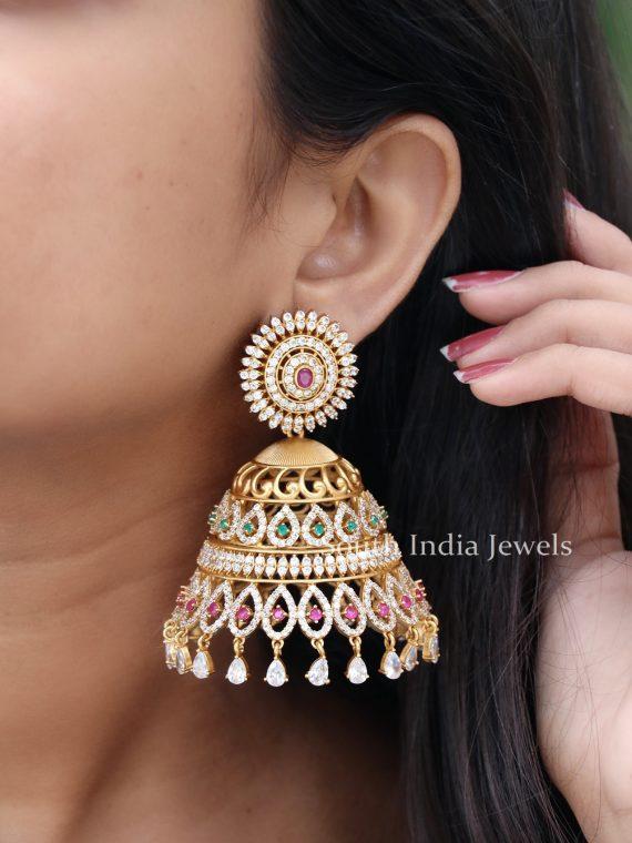 Elegant Imitation Jhoomer Jhumka
