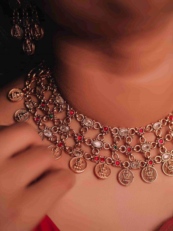Elegant Statement Antique Necklace