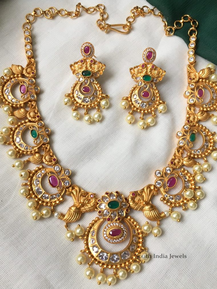 Gorgeous Chandbali Design Necklace