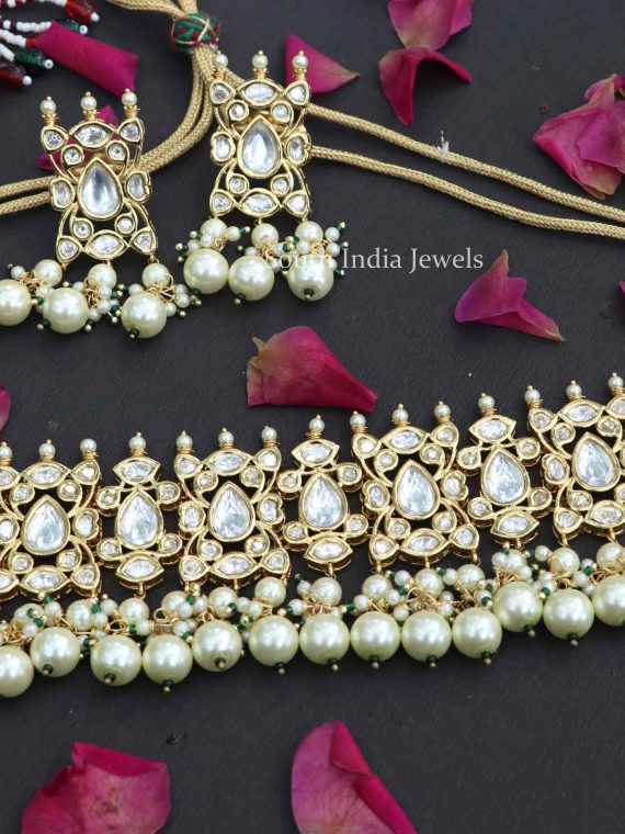 Gorgeous Kundan Choker Set with Earrings