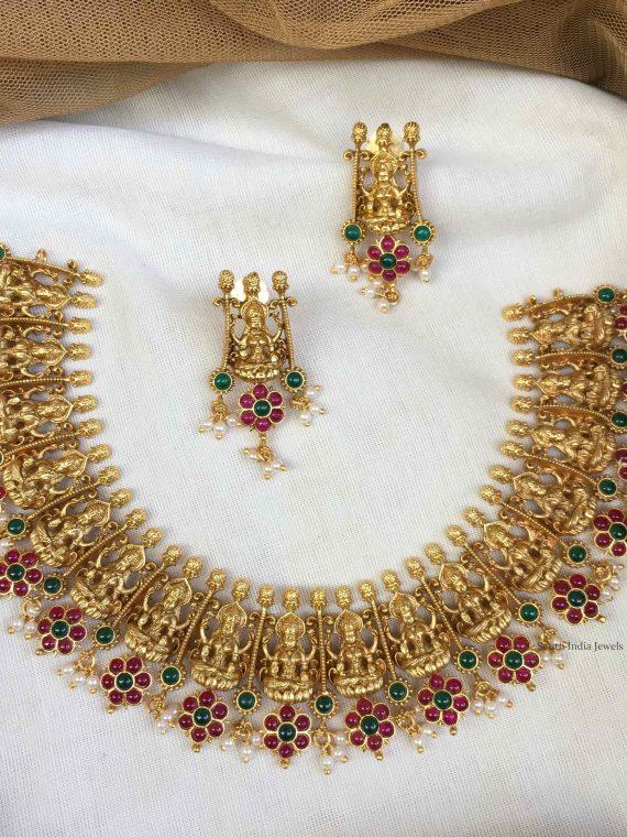 Gorgeous Lakshmi Design Necklace