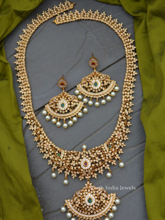 Grand AD Stone Beautiful Bridal Haram-01