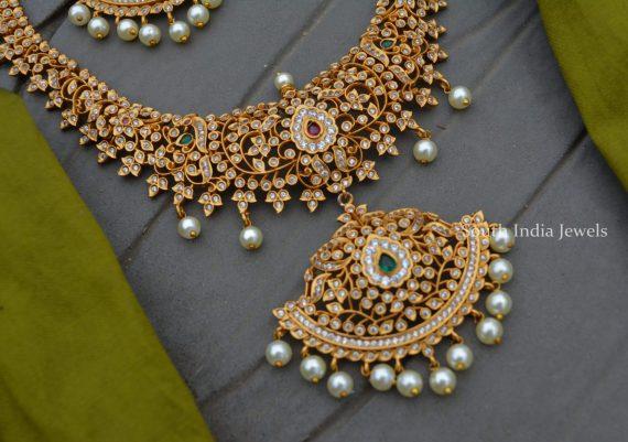 Grand AD Stone Beautiful Bridal Haram-02