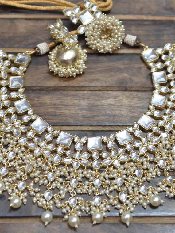 Grand Bridal Wear Heavy Kundan Choker Set-03 (2)