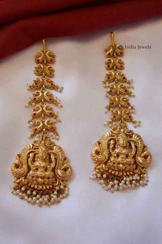 Grand Lakshmi Design Bridal Maang Tikka