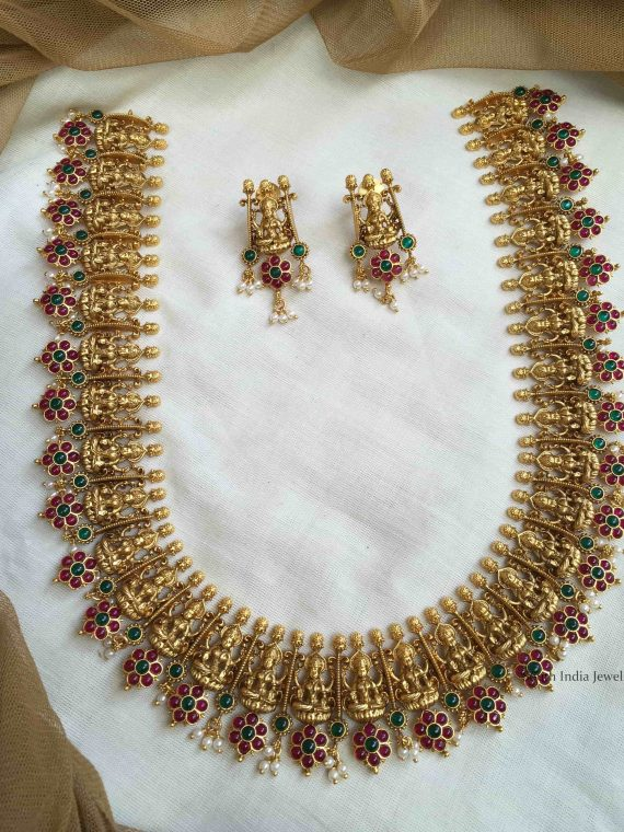 Grand Lakshmi Mid Length Haram