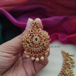 Grand Pearl Drop Imitation Necklace