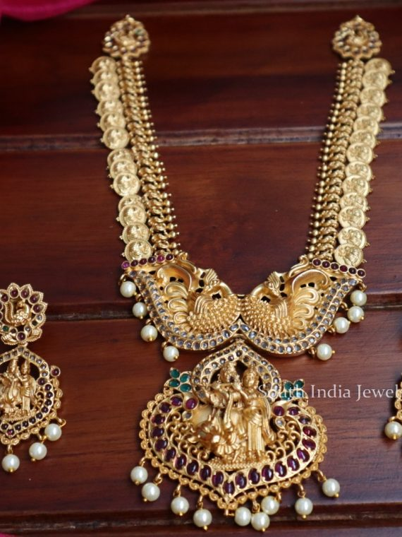 Imitation Radha Krishna Necklace