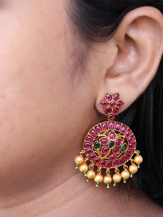 One Gram Gold Kemp Earings-02