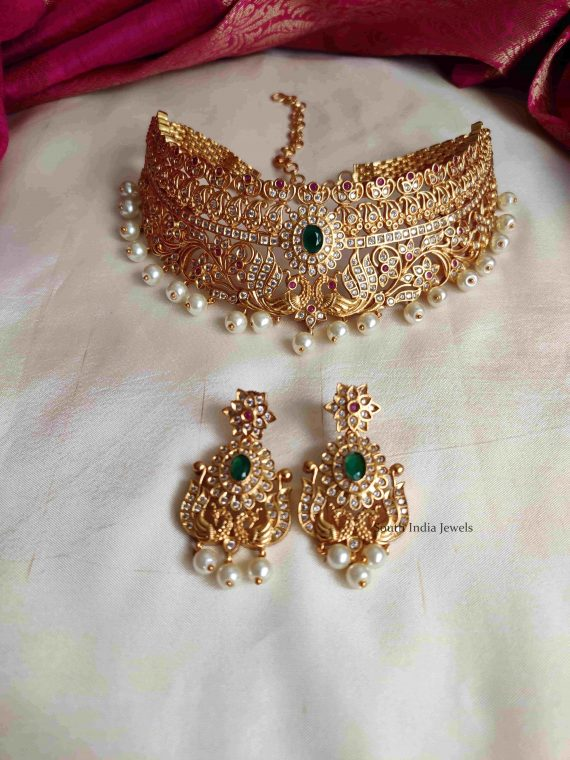 Royal & Elegant Bridal Wear Choker Set