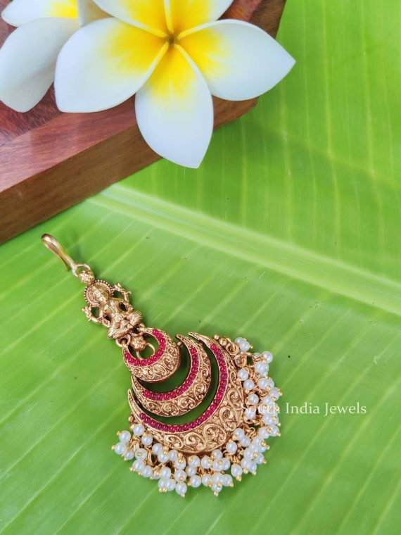 Traditional Lakshmi Design Maang Tikka