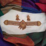 Traditional Wear Lakshmi Design Choker-01