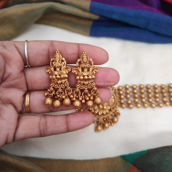 Traditional Wear Lakshmi Design Choker-02