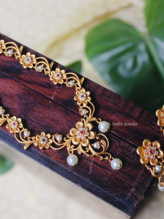 Traditional Wear Matte Finish Necklace