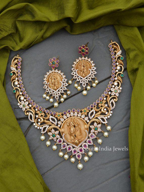 Traditional Wear Ram Parivar Necklace