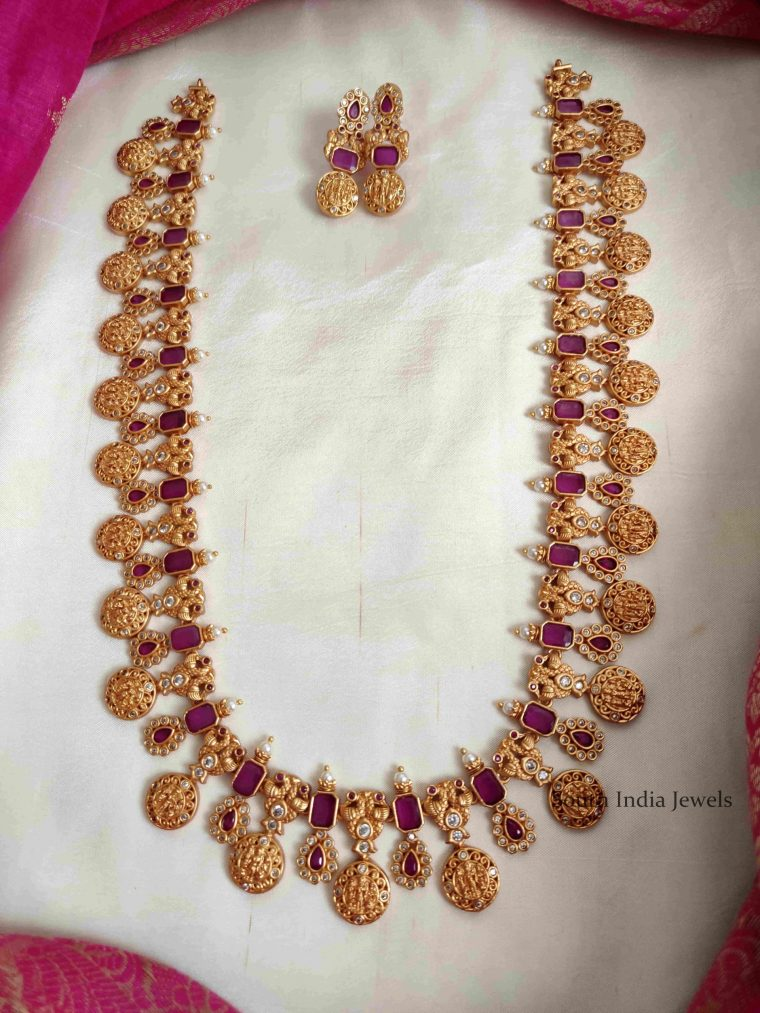 Wedding Wear Grand Lakshmi Kasula Haram