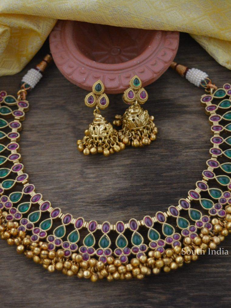 Antique Kemp & Green Necklace Set